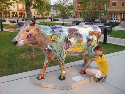 Violet the All-Wisconsin Cow
