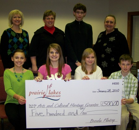 Brown County Youth Scholarship Arts and Cultural Heritage Grantees