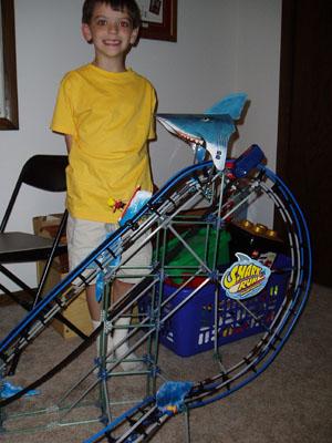 Lukes knex roller coaster