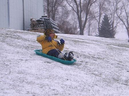 Downhill ride