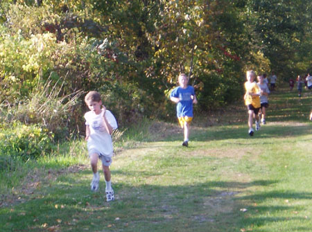 Stanley running cross country track