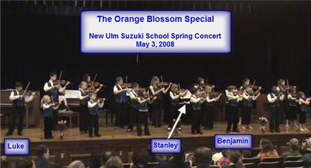 Orange Blossom Special Video